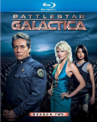 BATTLESTAR GALACTICA:SEASON TWO Blu-Ray NEUF