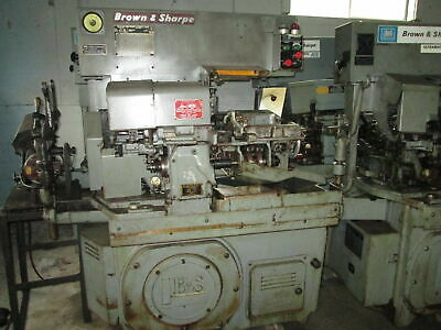 "Brown & Sharpe No. 00 1/2"" Capacity 2 Speed 220V 3Ph Automatic Screw Machine"