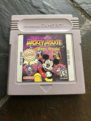 Disney's Mickey Mouse: Magic Wands (Nintendo Game Boy, 1998)