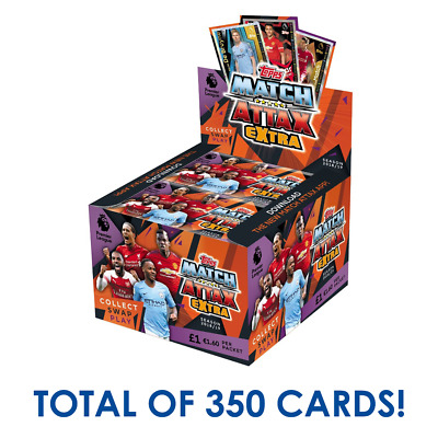 Match Attax Extra EPL 2018/19 Football Trading Cards 50x Packets FULL BOX 18/19