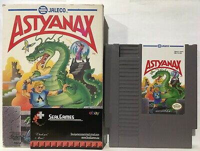 ☆ Astyanax ☆ (Nintendo, NES 1990) Authentic Oem ☆ COMPLETE Cib ☆ TESTED ☆