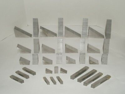 SET OF MACHINIST Clamps Hold Down Set Up milling workholding parting