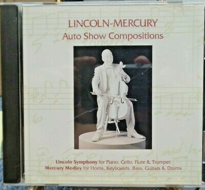 Lincoln-Mercury Auto Show Compositions 1993 Model Year Exhibits CD - VERY RARE -