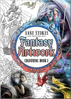 Anne Stokes Colouring Book 2