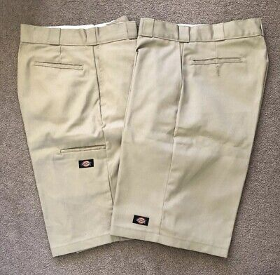 "American Dickies 13"" Loose Fit Work Short Size 32 2x Pairs"