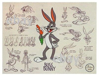 MADE IN NYC POSTER BUGS BUNNY 22x34 LOONEY TUNES 16458