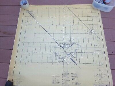 7 Vintage Road Maps Stanislaus California Highway Planning Survey U.S Historical