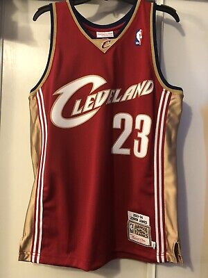 100% authentic 57013 d26f9 100% AUTHENTIC LEBRON James Mitchell & Ness Cavaliers Jersey Men's(Lakers,  Kobe)