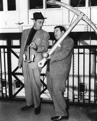 Bud Abbott and Lou Costello In The Navy 8x10 Photo
