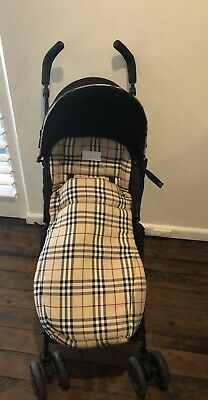 Maclaren Burberry Stroller Authentic Special Edition $1700 not sold in Australia