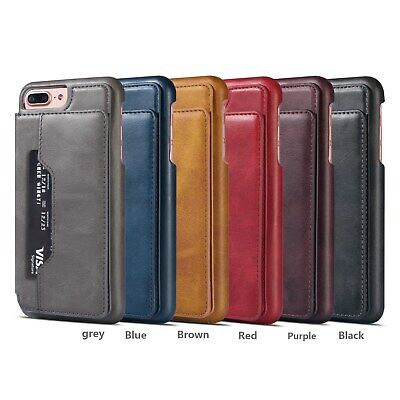 Vintage Leather Flip Wallet Card Holder Case Cover For Samsung Galaxy A70 A50
