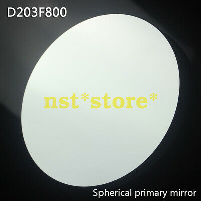 For reflective telescope D203 F800 spherical reflector objective primary mirror