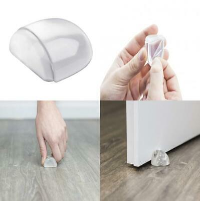 Master Door Stop Transparent - 26 x 42 mm - Floor Mounted - Self-Adhesive...