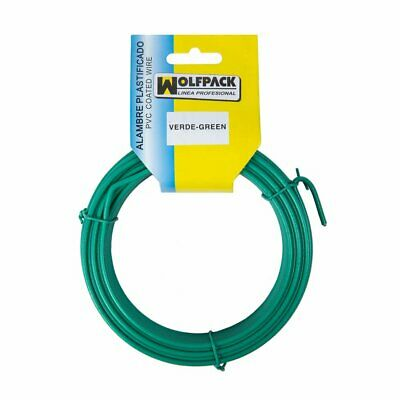 MAURER 1010506 – Plastic-Coated Wire Roll (10 Meters) Green Number 16/2.7 mm