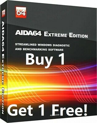 AIDA64 Extreme LifeTime License Key Code Buy 1 Get 2 Global Region Free
