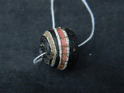 Ancient Glass Bead Italian 1600 AD #BE5022