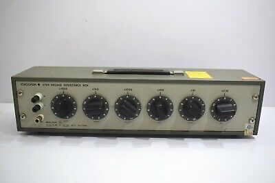 Yokogawa 2786 Six-Dial Wide Decade Resistance Box Range 0.1 to 1,111,110 ohms