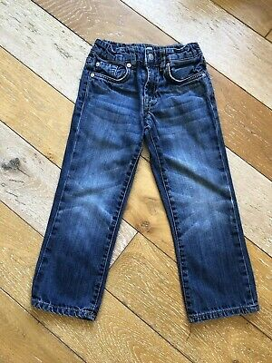 7 For All Mankind Straight Leg Jeans Age 4 Years
