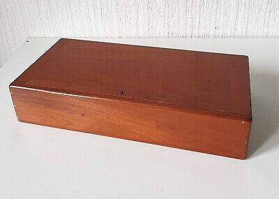 Vintage Mid 20Th Century Wooden Cabinet Box