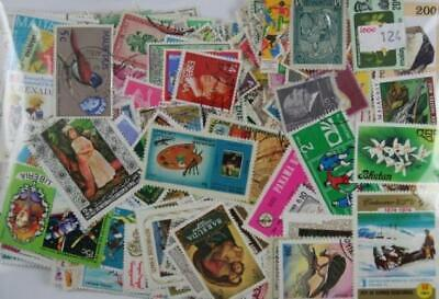 Packet of 1000 different worldwide stamps. A great stamp start.