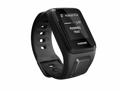 TomTom Spark - Music - Black - Large - GPS Multi-Sport Fitness Watch (A)