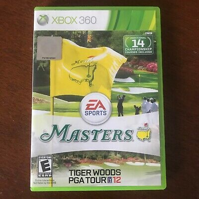 Tiger Woods PGA Tour 12: The Masters (Microsoft Xbox 360, 2011) Complete Tested