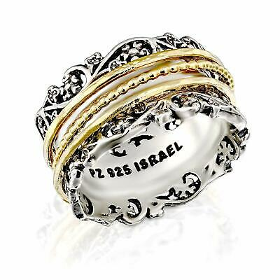 PZ Paz Creations YG .925 Sterling Silver Ring with Gold Over Silver   (Select)