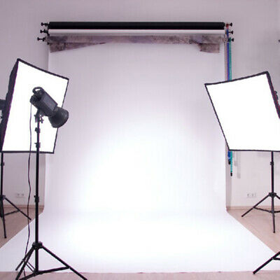3x5ft Pure White Vinyl Wall Photography Background Studio Photo Prop Backdrop US
