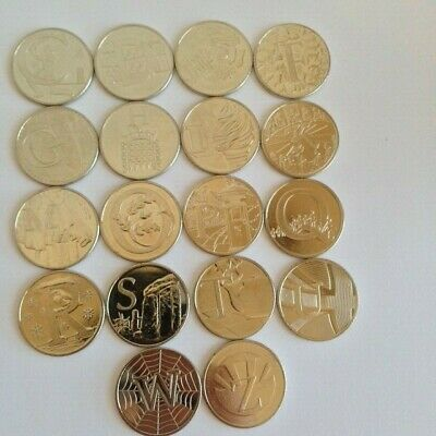 Unc  Alphabet 10P Coins 2018 + 2019      Free Old Size 10P With Orders Over £7