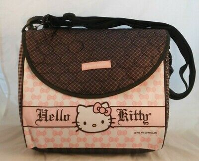 HELLO KITTY TUPPERWARE LUNCH KIT Bag Sandwich Snack Drink Containers In Bags NWT