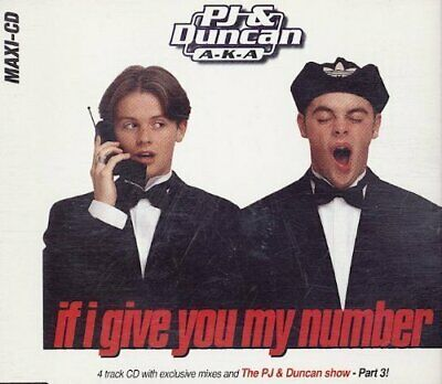 PJ & Duncan If I give you my number  [Maxi-CD]