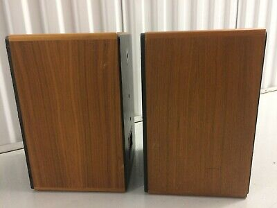 ADS L400 HI FI SPEAKER W/ Rare Wood Cabinets, Very Good Overall Audiophile A/D/S