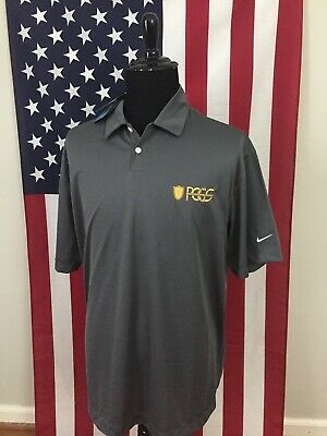new Nike Dri-Fit PCGS Professional Coin Grading Service Polo Shirt mens XL 19966