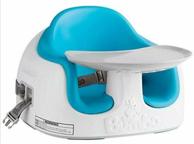 Booster Seat, Bumbo, Multi Chair, 3 In 1, Baby/Toddler, Feeding/Activity, Blue