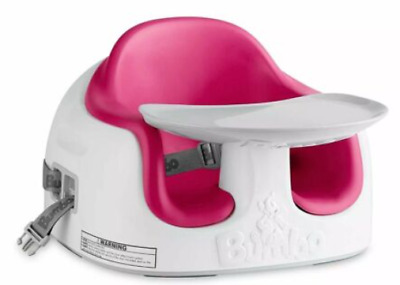 Booster Seat, Bumbo, Multi Chair, 3 n 1, Baby/Toddler, Feeding/Activity, Magenta