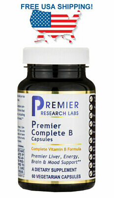 Complete B Premier Research Labs 60 caps FREE USA SHIPPING!
