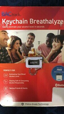 BACtrack Keychain Breathalyzer for Easy Estimate Alcohol Level NEW DMG PACKAGING
