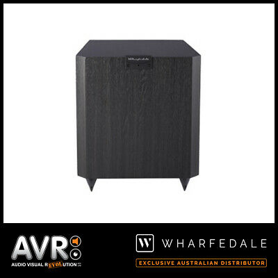BRAND NEW Wharfedale  Vardus VR-SUB 10 Active Subwoofer (BLACK) RRP: $649.00