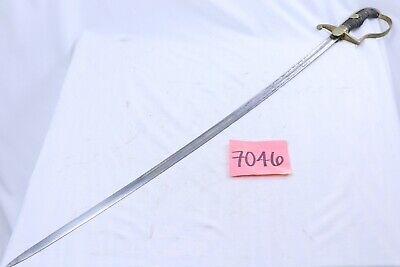 WWII German Dove Head Edge Weapon With Engraved Blade - NO SCABBARD
