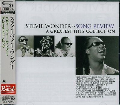 Stevie Wonder Song Review A Greatest Hits Collection Japan 2012 Shm Rmst Cd