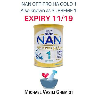 NAN OPTIPRO HA Gold Supreme 2 Premium Nutritional Milk Formula