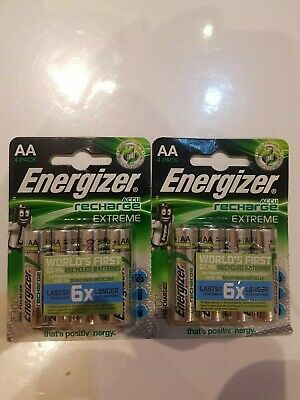 Piles Rechargeables Energizer Aaa 2300Ma X 8