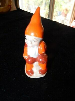 Very Old Gnome Porcelain Figurine