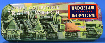 Lionel Train Watch in Tin Needs Battery #watch1