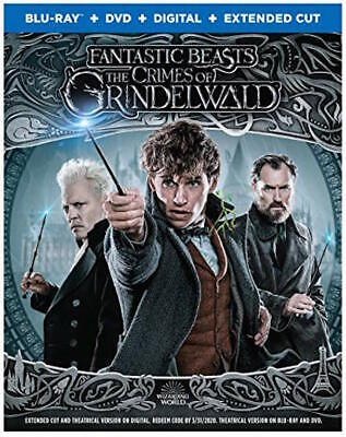 Fantastic Beasts: Crimes Of Grindelwald - [Blu-Ray/Dvd Combo Pack] New Unopened