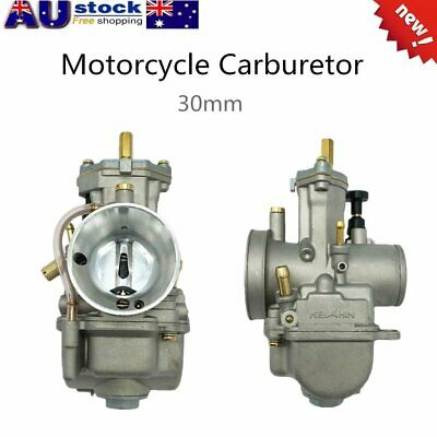 Motorcycle Carburetor Carb For Keihin PWK Mikuni Engine Generator Scooter 30mm T