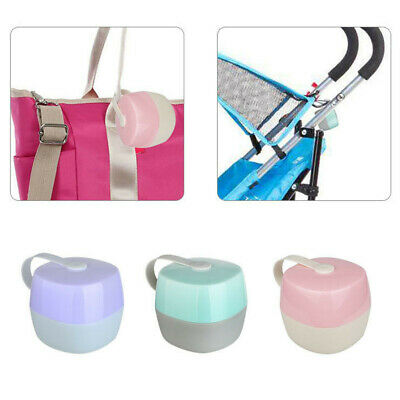 Infant Baby Soother Container Holder Pacifier Dummy Box Travel Storage Case