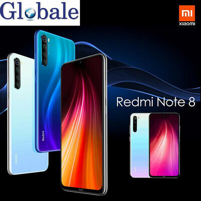 64GB/128GB 6.3'' Xiaomi Redmi Note8 4G Lte Smartphone impronte Cellulare 2SIM IT