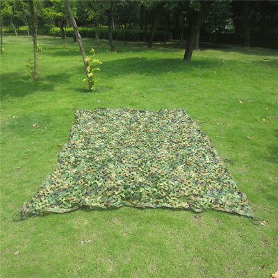 Filet Camouflage Forêt Jungle Camping Chasse Cacher Vert Armée Militaire Camo