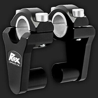 "Rox Risers 2"" Pivoting Bar Risers for 7/8"" OR 1 1/8"" Handlebar 1R-P2SEK"
